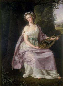 Queen Marie Antoinette as Erato | Ludwig Guttenbrunn | Oil Painting
