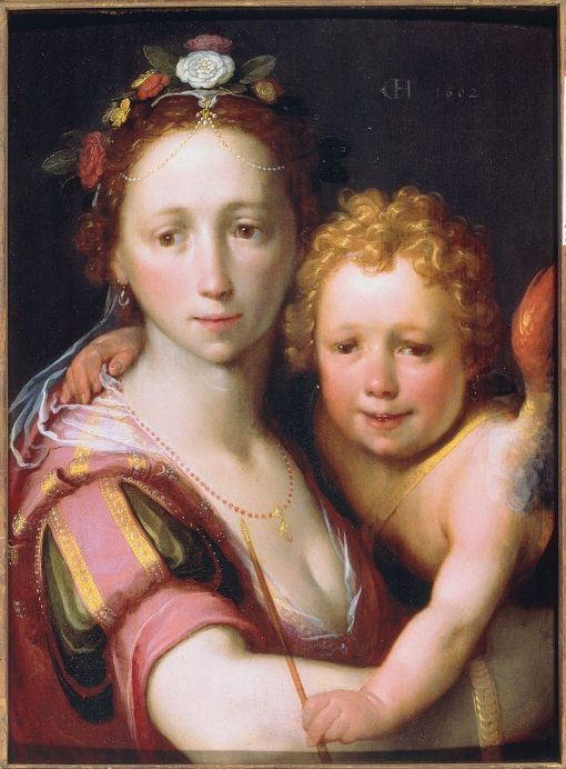 Venus and Cupid | Cornelis van Haarlem | Oil Painting