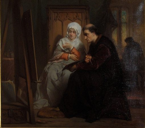 The Confession | Edouard Hamman | Oil Painting