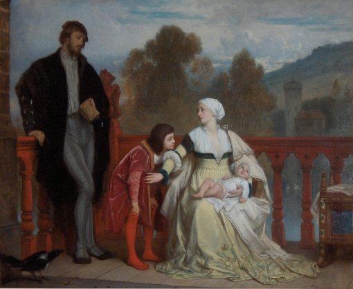 The Newborn | Edouard Hamman | Oil Painting