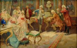 The Concert | Rudolf Alfred Höger | Oil Painting