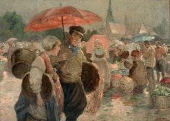 Market Day | Rudolf Alfred Höger | Oil Painting