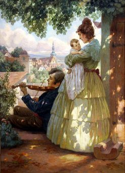 Family Idyll | Rudolf Alfred Höger | Oil Painting