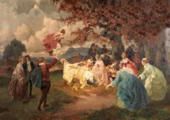 The Swing | Rudolf Alfred Höger | Oil Painting