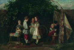Children Playing -  The Fortune Teller | Charles Hunt
