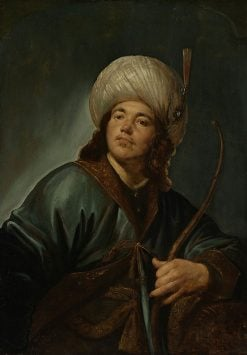 Young Man in an Oriental Costume | Pieter Fransz. de Grebber | Oil Painting