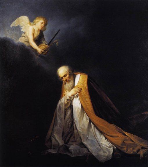 King David in Prayer   Pieter Fransz. de Grebber   Oil Painting