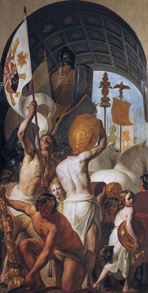 Part of the Triumphal Procession