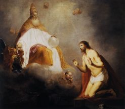 God Inviting Christ to Sit on the Throne at His Right Hand | Pieter Fransz. de Grebber | Oil Painting