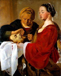 Herodias mutilating St John the Baptists head | Pieter Fransz. de Grebber | Oil Painting