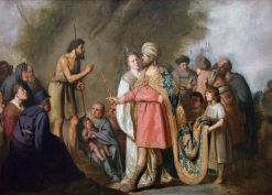 Saint John the Baptist preaching before Herod Antipas | Pieter Fransz. de Grebber | Oil Painting