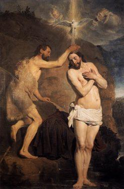 The Baptism of Christ | Pieter Fransz. de Grebber | Oil Painting