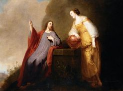 Christ and the Woman of Samaria | Pieter Fransz. de Grebber | Oil Painting