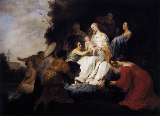 Finding of Moses | Pieter Fransz. de Grebber | Oil Painting