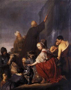 Moses Striking the Rock | Pieter Fransz. de Grebber | Oil Painting