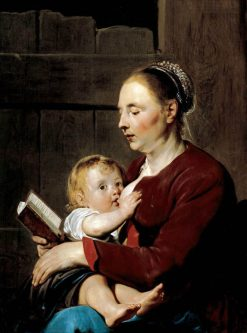 Mother and Child | Pieter Fransz. de Grebber | Oil Painting