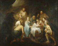 The Nativity | Pieter Fransz. de Grebber | Oil Painting