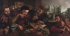The Parable of the Unmerciful Servant | Jan Sanders van Hemessen | Oil Painting
