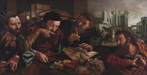 The Parable of the Unmerciful Servant | Jan Sanders van Hemessen | Oil Painting