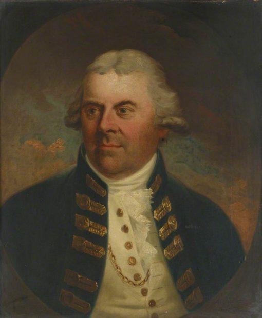 Vice-Admiral Alan Gardner | Karl Anton Hickel | Oil Painting