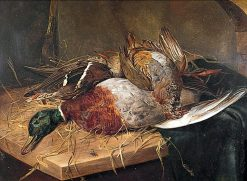 Group of Dead Game Birds | Emily Stannard | Oil Painting