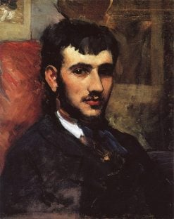 Pierre Auguste Renoir | Jean Frederic Bazille | Oil Painting