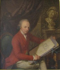 Portrait of Charles Gore   Ludwig Guttenbrunn   Oil Painting