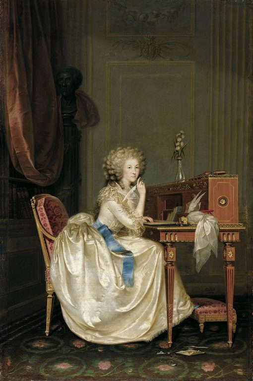 Portrait of the Princess of Lamballe | Karl Anton Hickel | Oil Painting