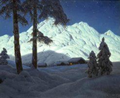 Effet de lune | Ivan Fedorovich Choultse | Oil Painting