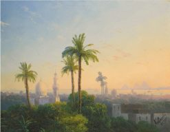 View of Cairo | Ivan Constantinovich Aivazovsky | Oil Painting