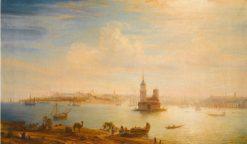View of Constantinople | Alexei Bogoliubov | Oil Painting
