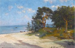 A Beach in Livonia | Alexander Beggrov | Oil Painting