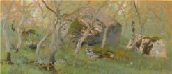 Woodland Study | Isaak Levitan | Oil Painting