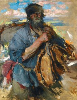 Home from Market | Abram Efimovich Arkhipov | Oil Painting
