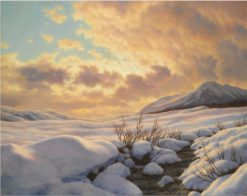 Mountain Stream | Ivan Fedorovich Choultse | Oil Painting