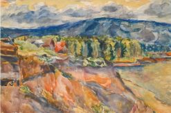 Zhiguli Mountains | Aristarkh Lentulov | Oil Painting