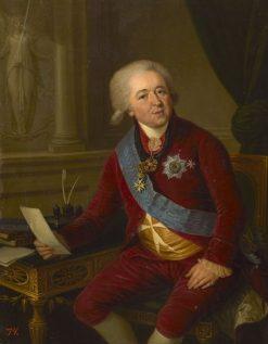 Portrait of Prince Alexander Kurakin   Ludwig Guttenbrunn   Oil Painting