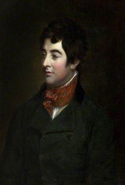 Lord Edward Fitzgerald | Hugh Douglas Hamilton | Oil Painting
