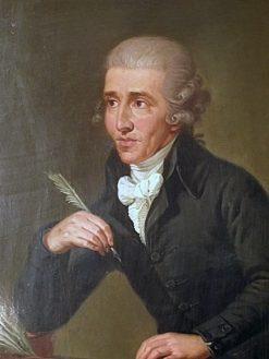 Portrait of Joseph Haydn   Ludwig Guttenbrunn   Oil Painting