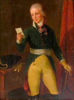 Efim Renkevich   Ludwig Guttenbrunn   Oil Painting