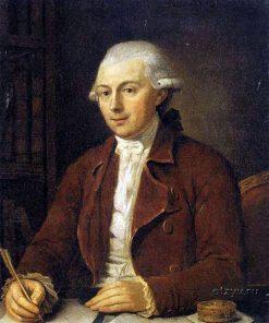 Count Musin-Pushkin   Ludwig Guttenbrunn   Oil Painting