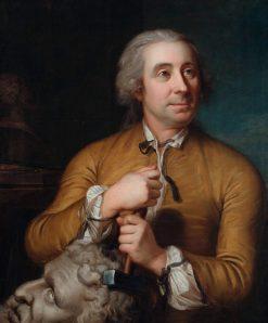 Johann August Nahl the Elder | Emmanuel Jakob Handmann | Oil Painting