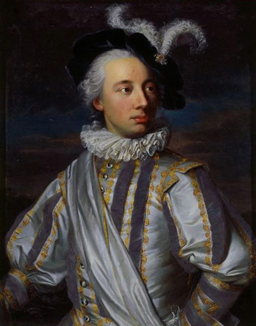 Portrait of Niklaus Tscharner   Emmanuel Jakob Handmann   Oil Painting