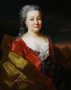 Portrait of Johanna Esther Dunz | Emmanuel Jakob Handmann | Oil Painting