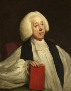 William Newcome   Hugh Douglas Hamilton   Oil Painting