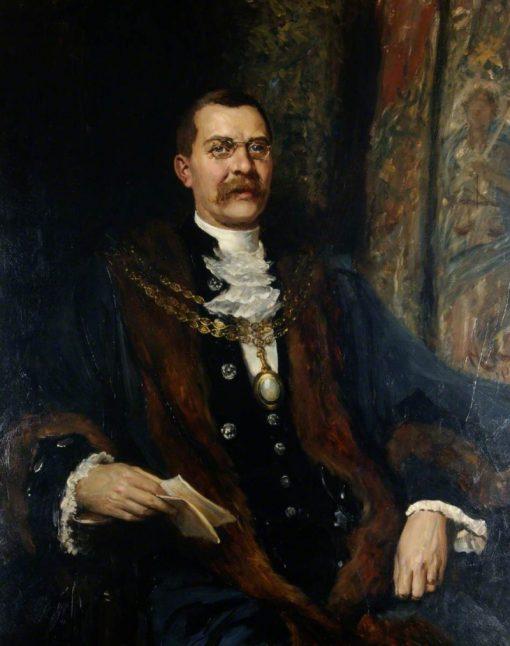 Alderman Sir George Hussey | Hubert von Herkomer | Oil Painting