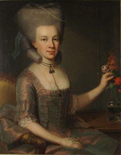 Katharina Elisabeth Stettler-Brutel | Emmanuel Jakob Handmann | Oil Painting