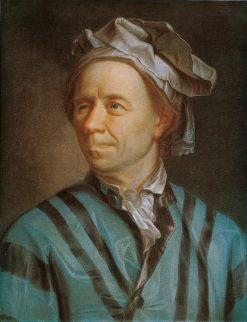 Portrait of Leonhard Euler | Emmanuel Jakob Handmann | Oil Painting
