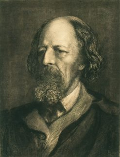 Alfred Lord Tennyson | Hubert von Herkomer | Oil Painting