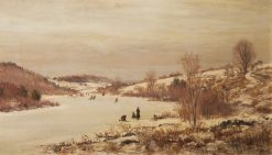Winter Scene | William Preston Phelps | Oil Painting
